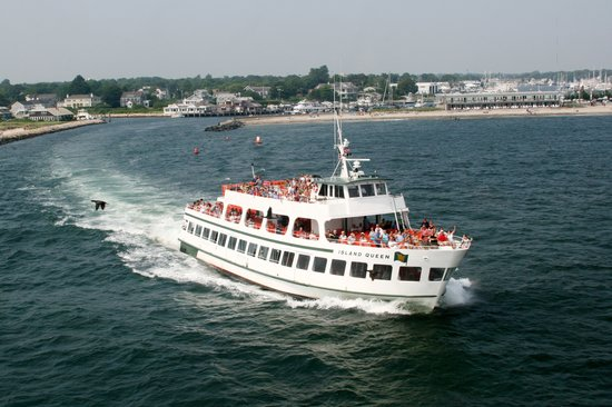 Falmouth, MA : Island Queen ferry to Martha's Vineyard