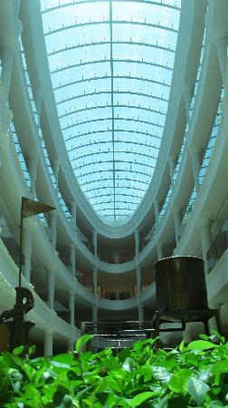 Iberostar Grand Hotel Bavaro: The skylight in the centre of our accomodations