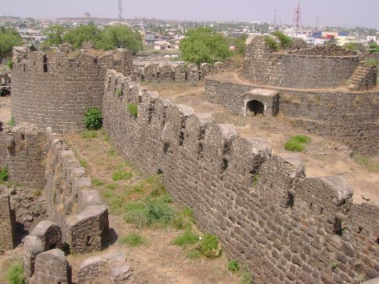 Battlements of Gulbarga Fort