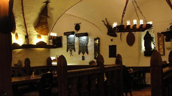 Hotel Ebertor: The old wine celler (now restaurant)