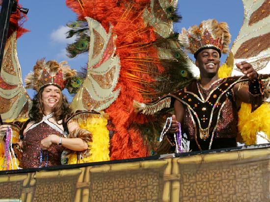 Lake Charles offers the second largest Mardi Gras in Louisiana. Bring the kids!