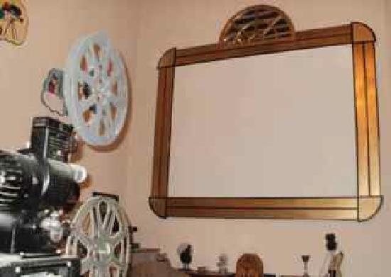 Casteland : Salle de projection