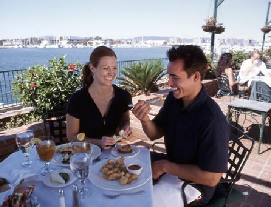 Most of Marina del Rey's restaurants are located on the waterfron