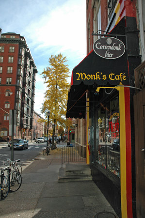 Photo of Restaurant Monk's Cafe at 264 S 16th St, Philadelphia, PA 19102, United States