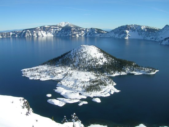 Klamath Falls, Oregón: Crater Lake National Park located in Klamath County