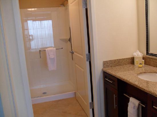 nice bathroom glass shower doors picture of residence inn rh tripadvisor co za Sliding Glass Shower Doors Bathroom bathroom frosted glass shower doors