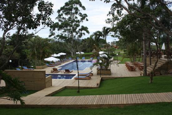 Pousada Oceanomare: deck piscina