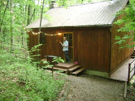 Hocking Hills Cabins: The cabin