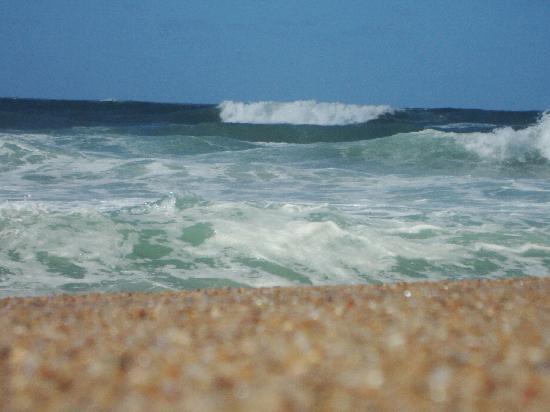 Miradores de Laguna Garzon: El océano