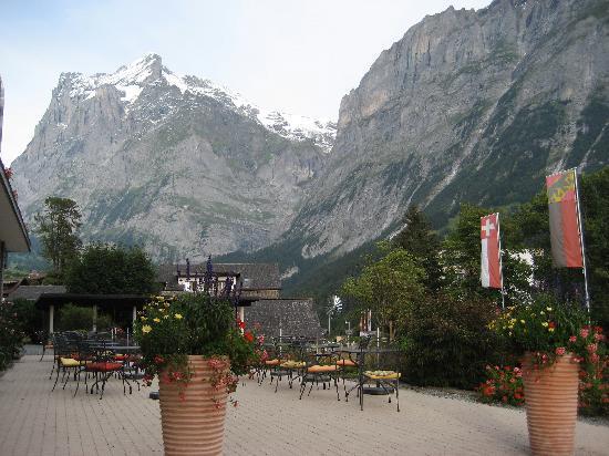 Parkhotel Schoenegg : Patio - View