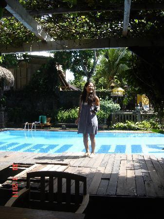 Puri Wisata Bungalows: Puri Wisata's pool