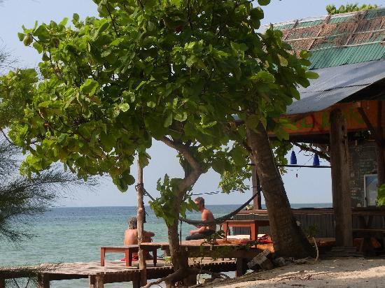 Seagate Beach Resort: ビーチバーあり 夜に営業してるのかは不明
