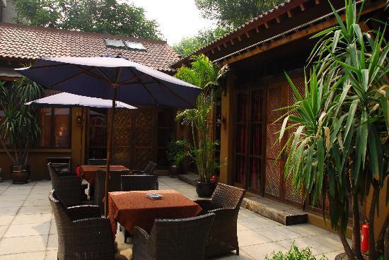 Shijia House: courtyard