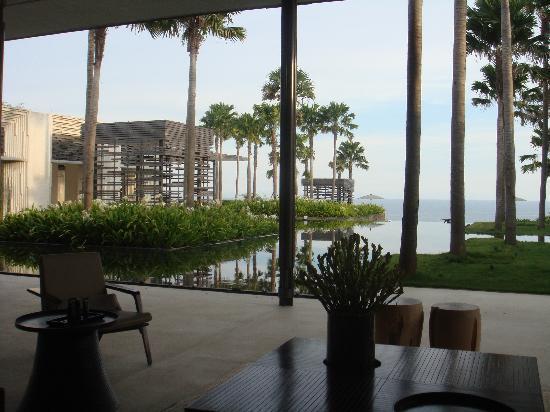Alila Villas Uluwatu: fantastic lobby area