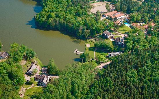 Gut Klostermuehle: Luftbild Gut Klostermühle