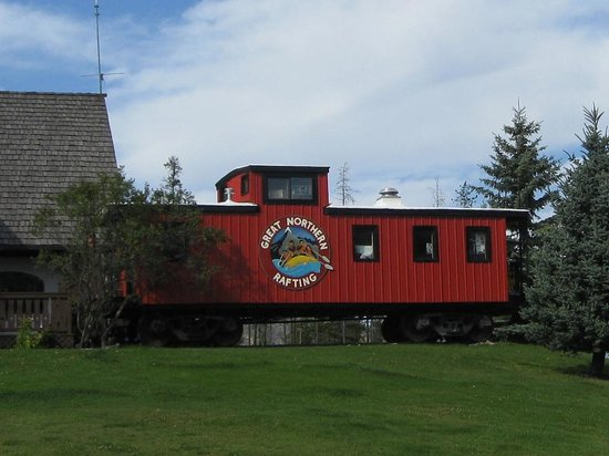 Great Northern Resort: Iconic Red Caboose