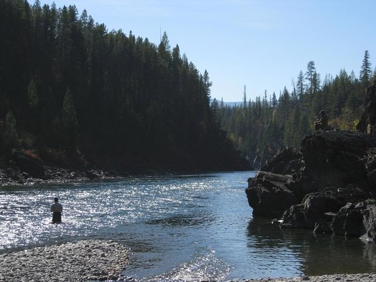 Great Northern Resort: Middle Fork of the Flathead