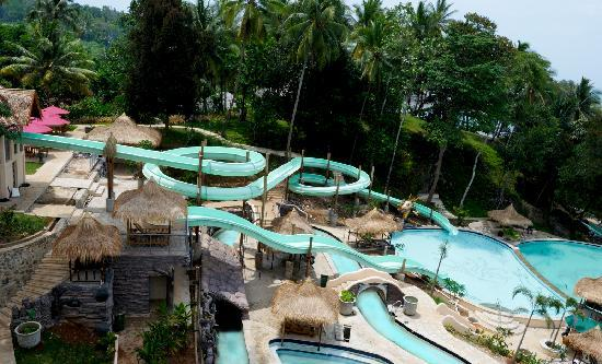Anyer, Indonesië: Water Slide Complex