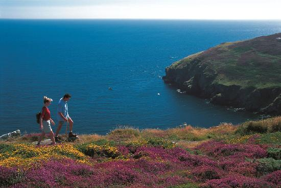 Isle of Man, UK: Walking the Island's coastline