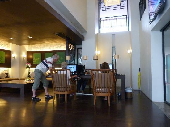 Banthai Beach Resort & Spa: Free internet access