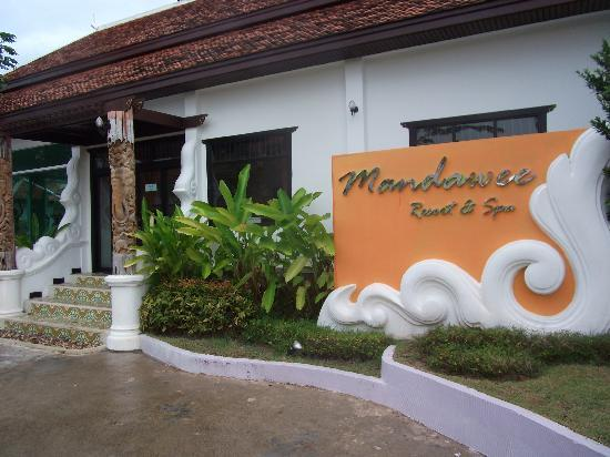 Mandawee Resort & Spa: entrance to hotel