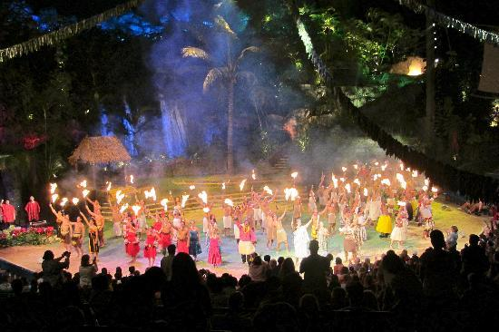 Polynesian Cultural Center: Ka Breath of Life (The evening show)