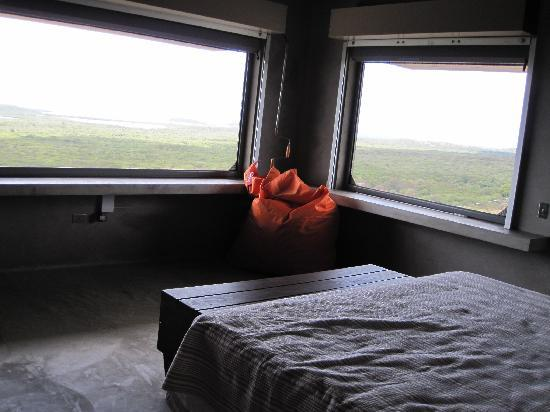 Casa Cascadas: Our open air room with a view!