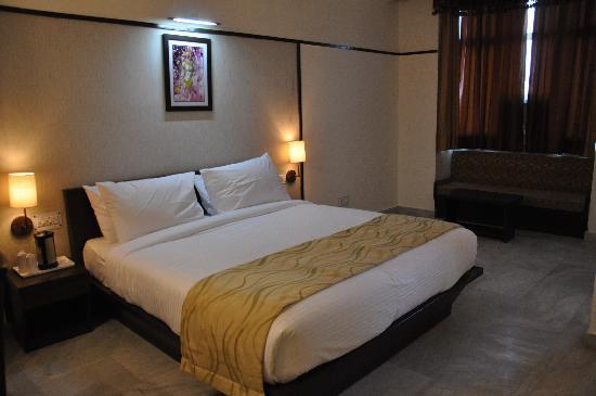 Hotel Krishna Sagar: Rooms