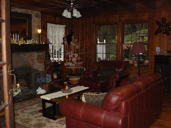 Laurel Springs Lodge B&B: Front Room