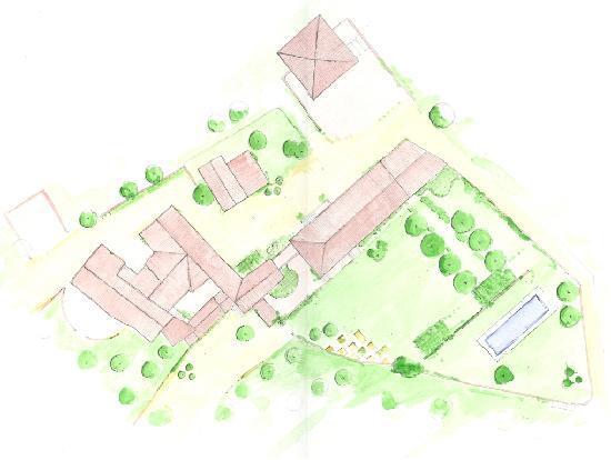 Agriturismo Borgo Personatina : planimetria del borgo