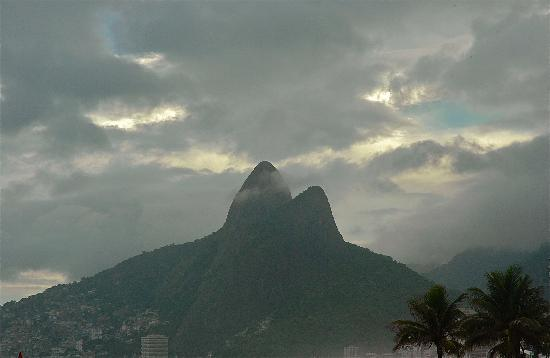 Rio de Janeiro, RJ: Two Brothers Mountains on One Glorious Beach