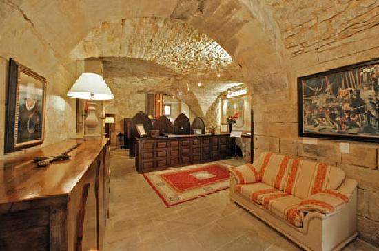 Chateau des Ducs de Joyeuse: la reception