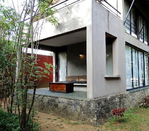 Thilanka Resort and Spa: 部屋にはオープンルームも
