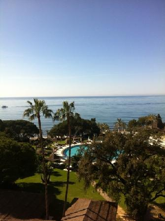 Gran Melia Don Pepe: view from 4th floor in March