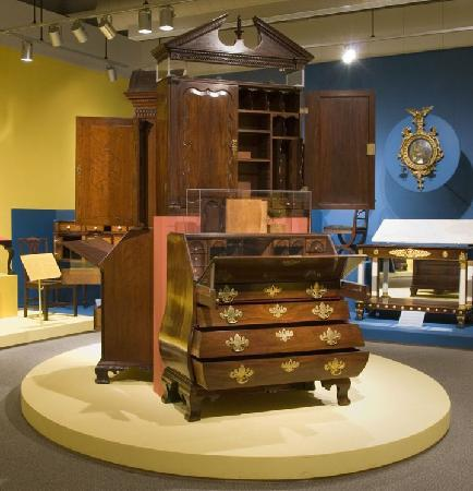A Glimpse Of The Exhibition Into The Woods Crafting Early American