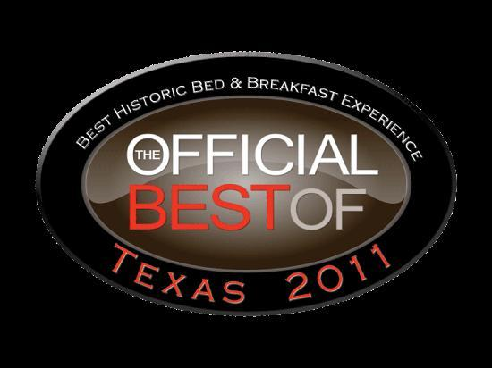 The Victorian Bed & Breakfast Inn: Offical Best of Texas