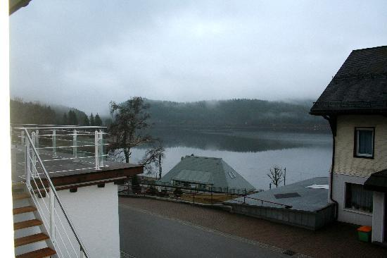Hotel Schiff Schluchsee: view from my room
