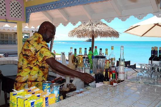 Hawksbill by Rex Resorts: best bartender there is!