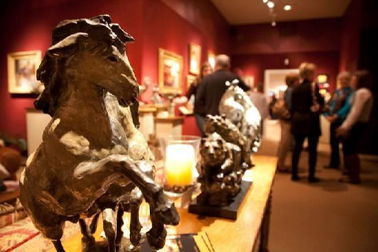 Fredericksburg, TX: Meet artists during First Friday Art Walks each month.