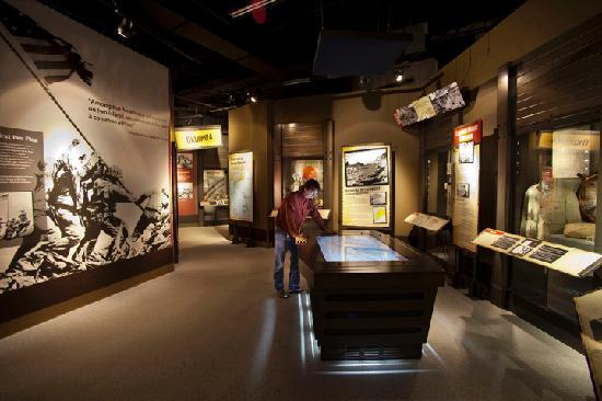 Fredericksburg, TX: Visit the only museum in the continental U.S. dedicated to WWII Pacific Theater battles.