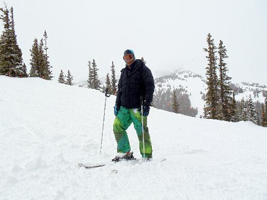 Black Tie Ski Rentals of Breckenridge: My brother Matt @ Peak 9 - Black Tie Premium