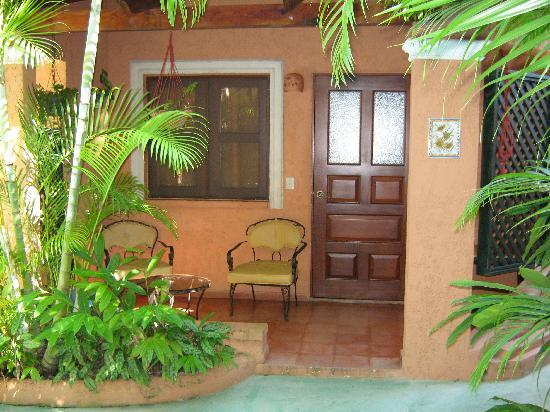 Casa Valeria Boutique Hotel: Exterior of my room