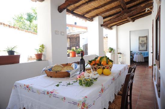 San Vito, Italia: veranda