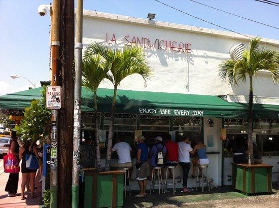 La Sandwicherie : awesome sandwich place