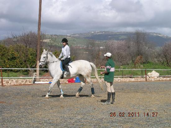 Amargeti Equestrian Club: The trainer in action