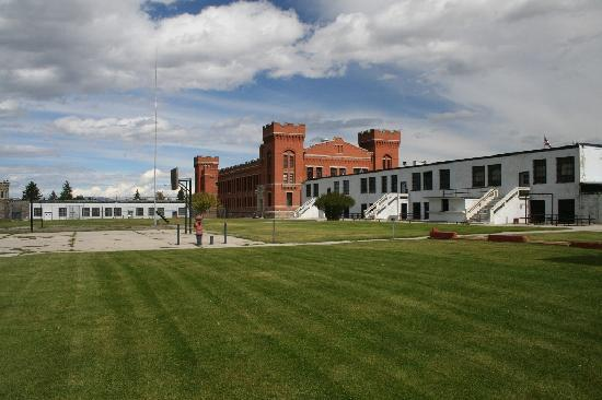 Deer Lodge, MT: Old Prison Exercise Lawn