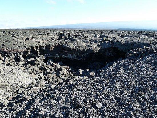Kailua-Kona, HI: lava field