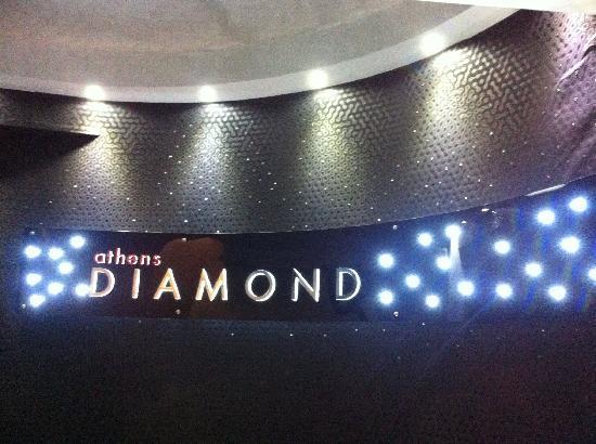 Athens Diamond Homtel: Front desk