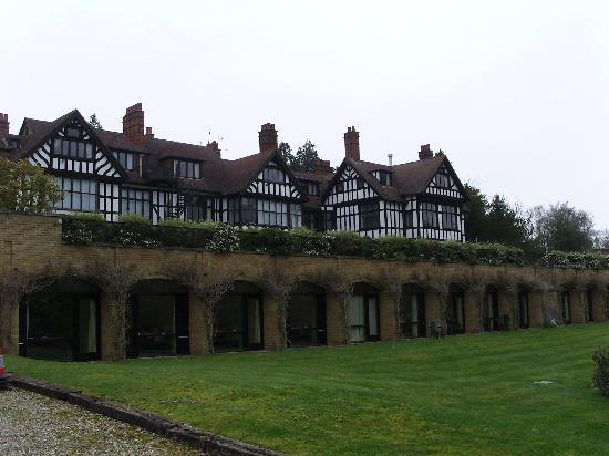 Godalming, UK: The back of the hotel.