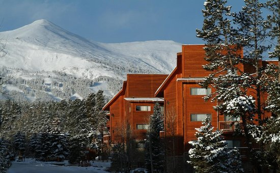 Pine Ridge Condominiums: Pine Ridge Winter Exterior